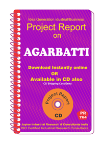 Agarbatti manufacturing project Report eBook
