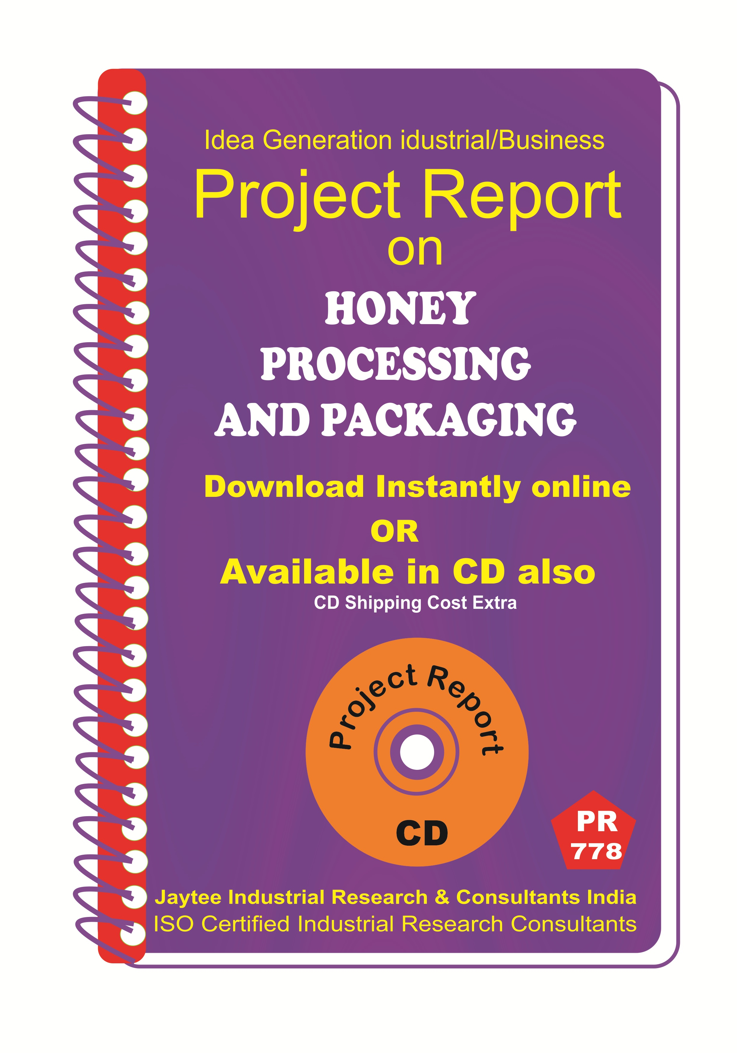 Honey Processing and Packaging Project Report EBook