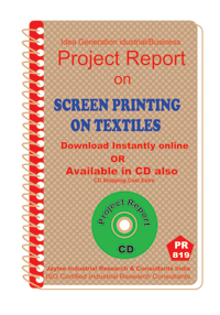 Screen Printing on Textiles manufacturing eBook