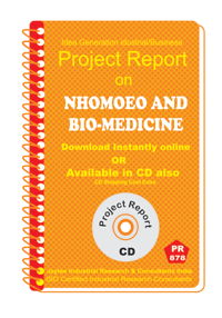 Nhomoeo and Bio-medicine manufacturing project Report eBook