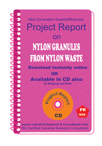 Nylon Granules From Nylon Waste Manufacturing eBook