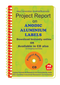 Anodic Aluminium Labels Manufacturing Project Report Book
