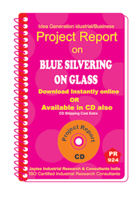 Blue Silvering on Glass Manufacturing Project Report Book