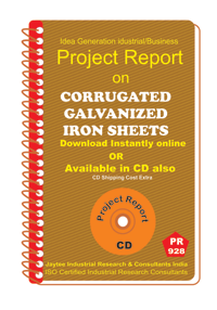 Corrugated Galvanised Iron Sheets Manufacturing Book