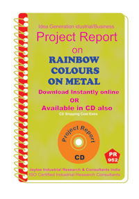 Rainbow Colours on metal Project Report eBook